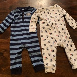 2 piece onesies for 6 month baby boy